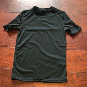 Boys Russell black Athletic shirt